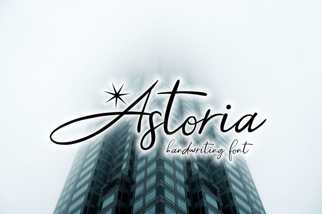 Astoria Demo Font 英文少女字型下載