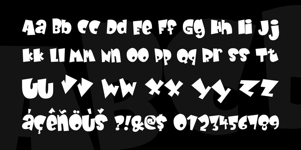 Baby Kruffy Font 可愛嬰兒字型下載