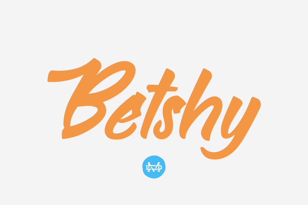 Bethsy Font 潮流字型下載