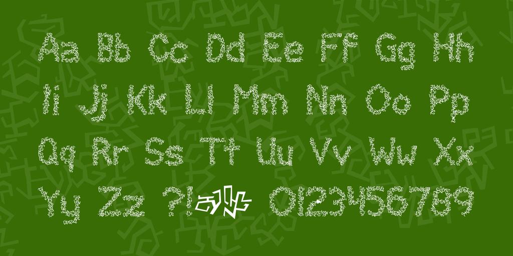 Clawless Font 塗鴉潦草字型下載