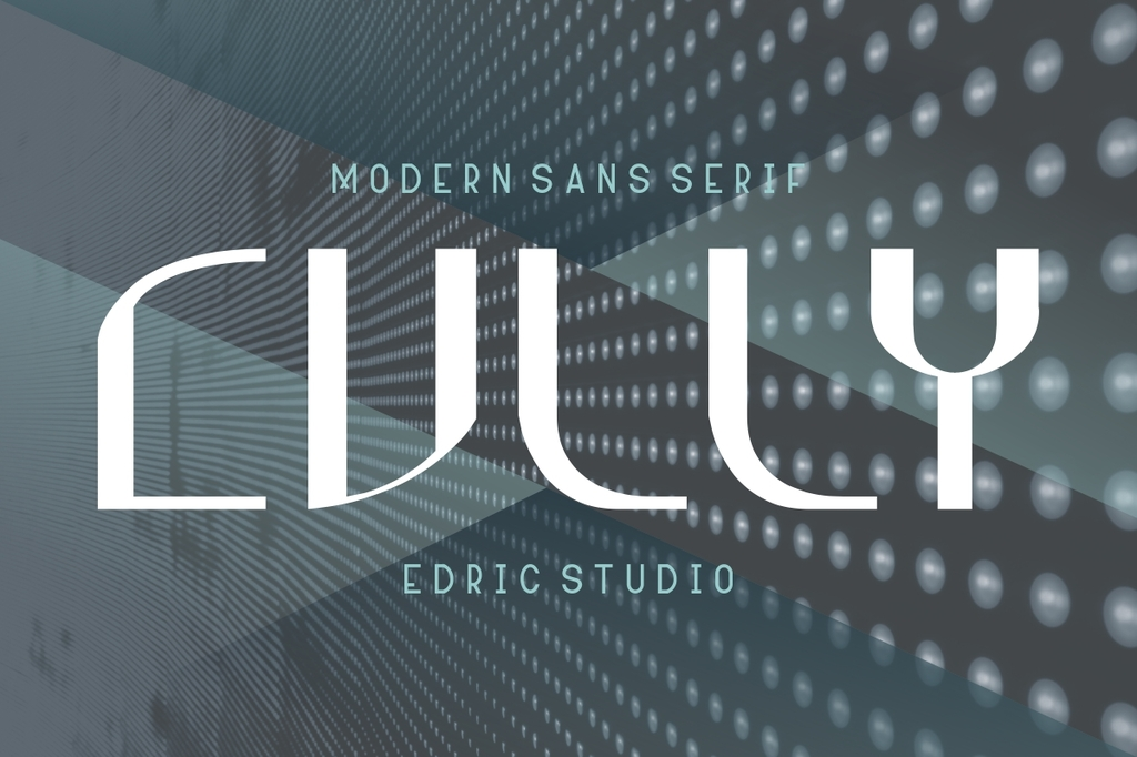 Cully Font Family 現代時尚字型下載