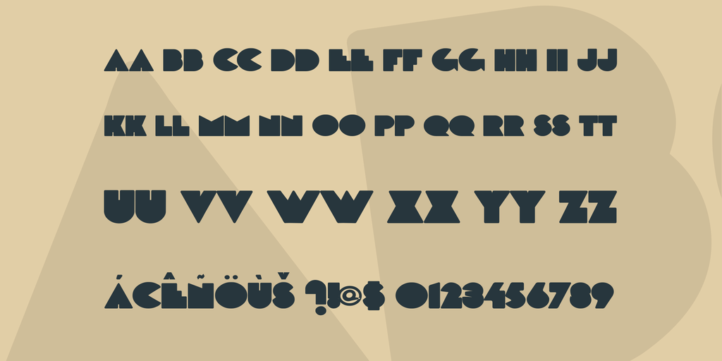 DeLarge Font 歐美雜誌字型下載