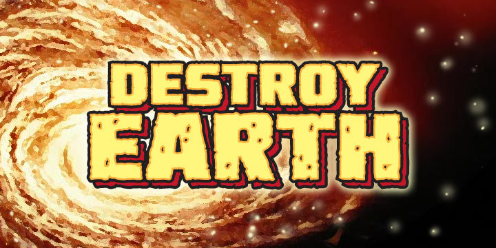 Destroy Earth Font Family 世界毀滅字型下載