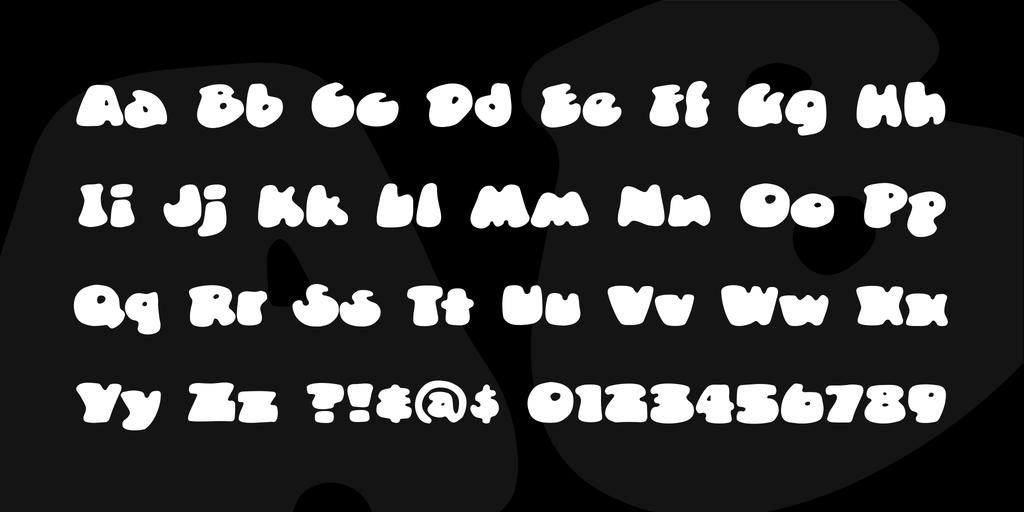 DunceCap BB Font Family 可愛口香糖字型下載