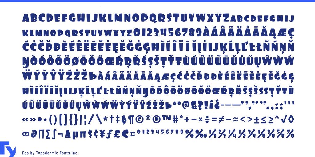 Foo Font 英文刻字字型下載