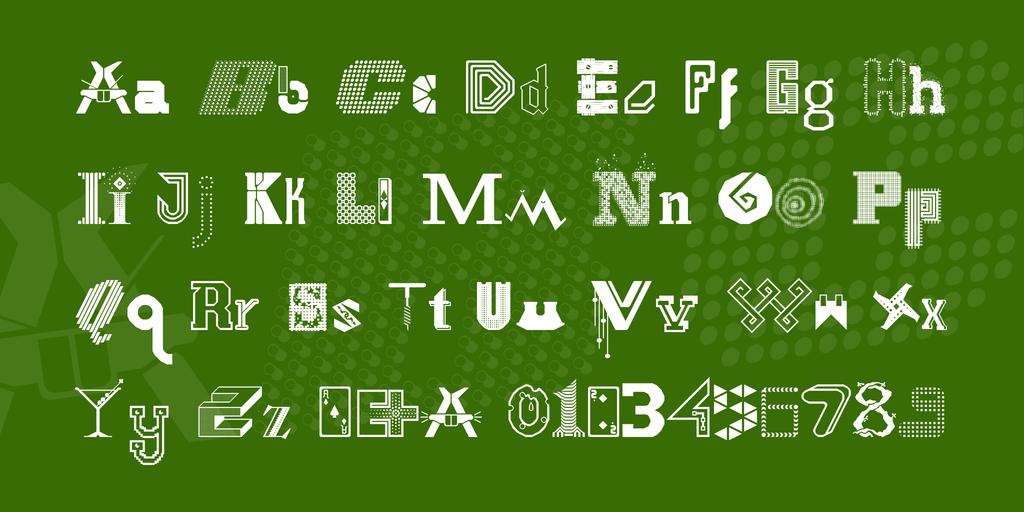 FS Collaboration 1 Font 幻想字型下載
