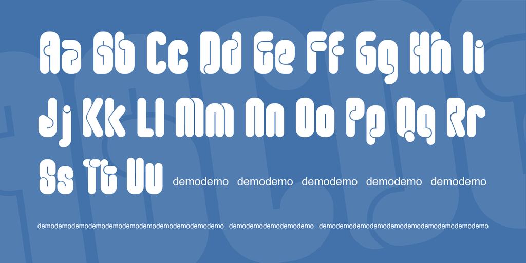 FT Roundabout Font 復古圓體字型下載 字型下載