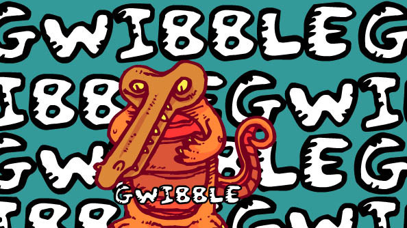 Gwibble Font 手寫塗鴉字型下載 字型下載