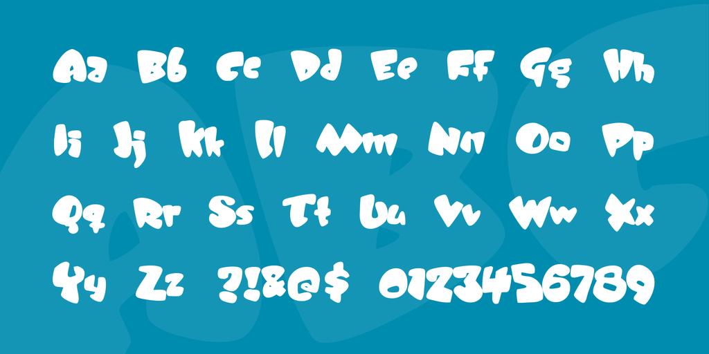 JellyBelly Font 可愛甜美字型下載