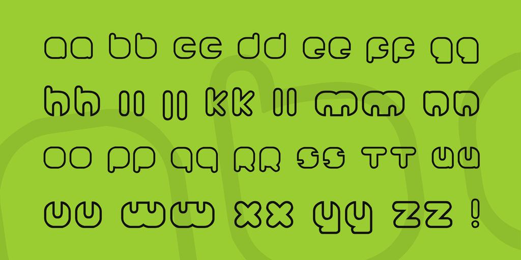 Johanneke Font 可愛邊框字型下載