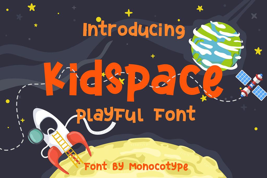 Kidspace Font 幼童手寫字型下載