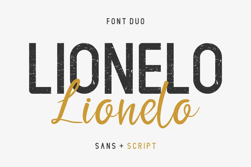 LIONELLO Font Family 品牌設計字型下載