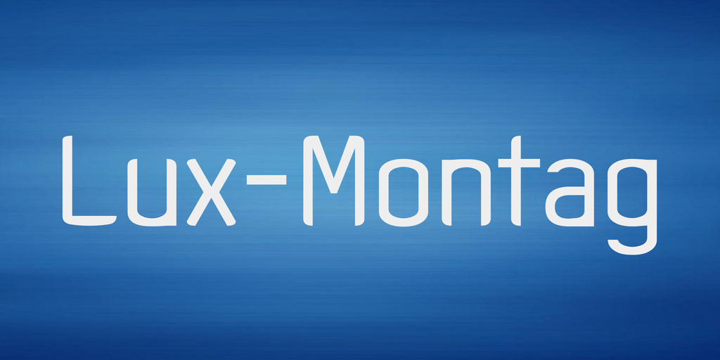 Lux-Montag Font 希臘風字型下載
