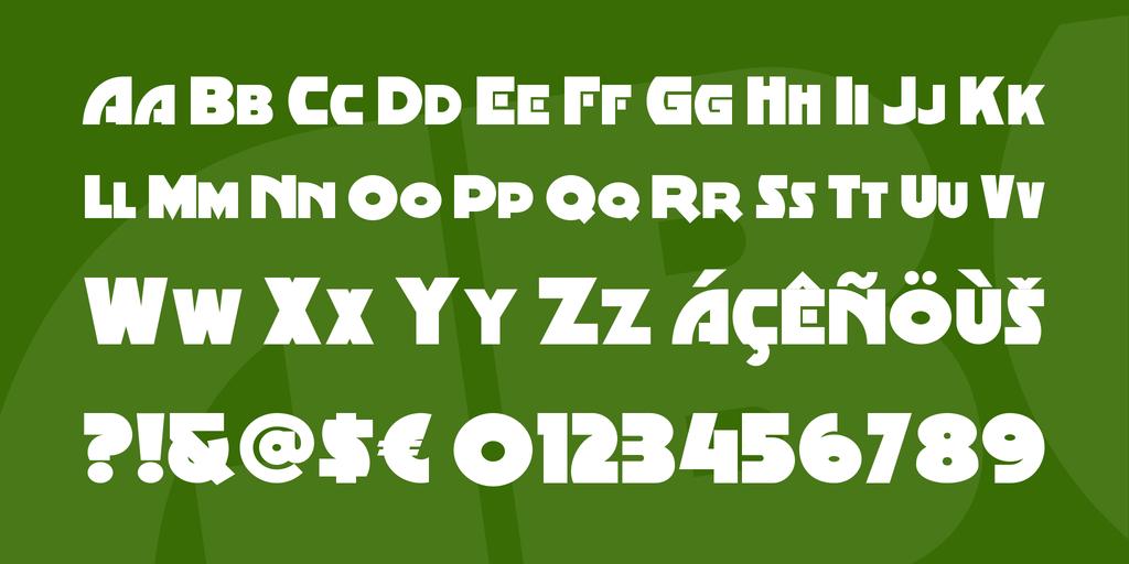 Minstrel Poster Font Family 藝術傳單字型下載