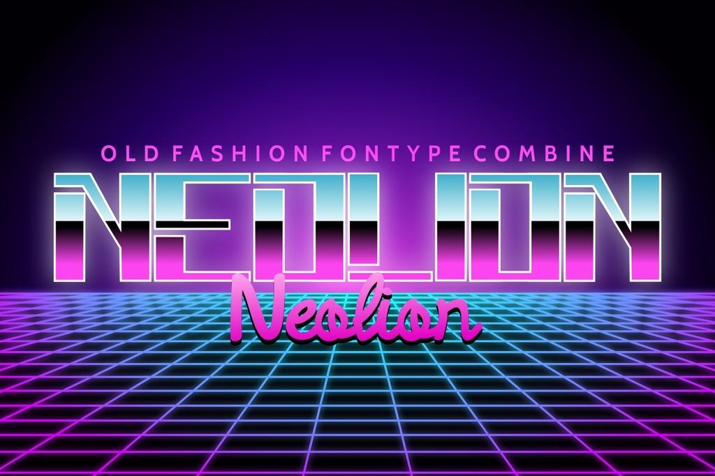 Neolion Font Family 電子舞廳字型下載