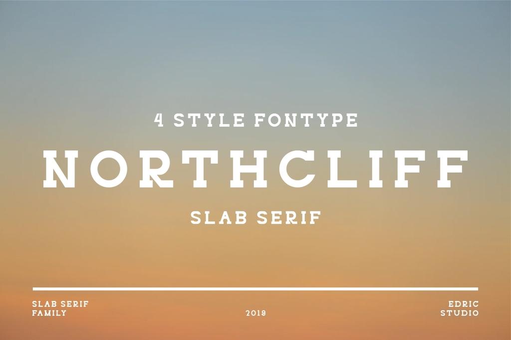 NORTHCLIFF Font Family 簡潔字型下載