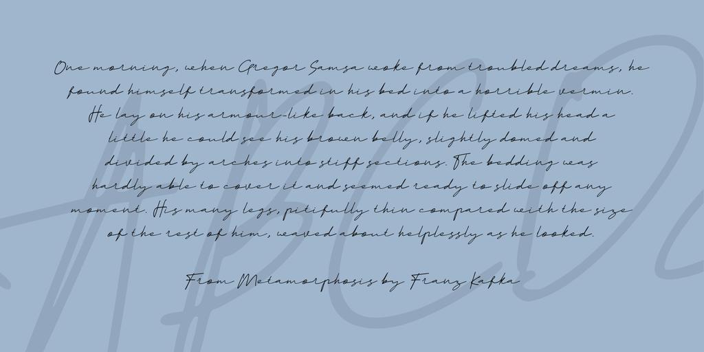 Prettigel Font 質感手寫字型下載