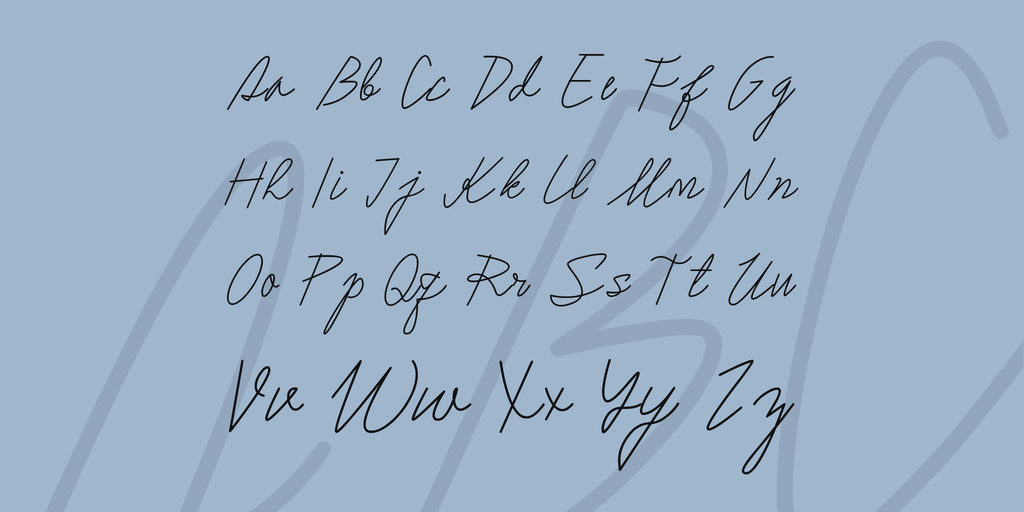 Sholeha Font 鋼筆手寫字型下載