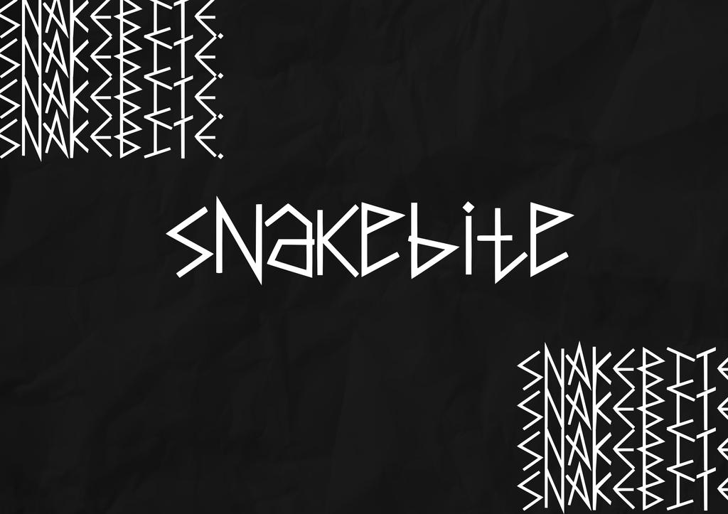 Snakebite Font 神秘詭異字型下載