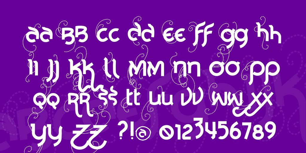 Vtks Noba Font 創意裝飾字型下載