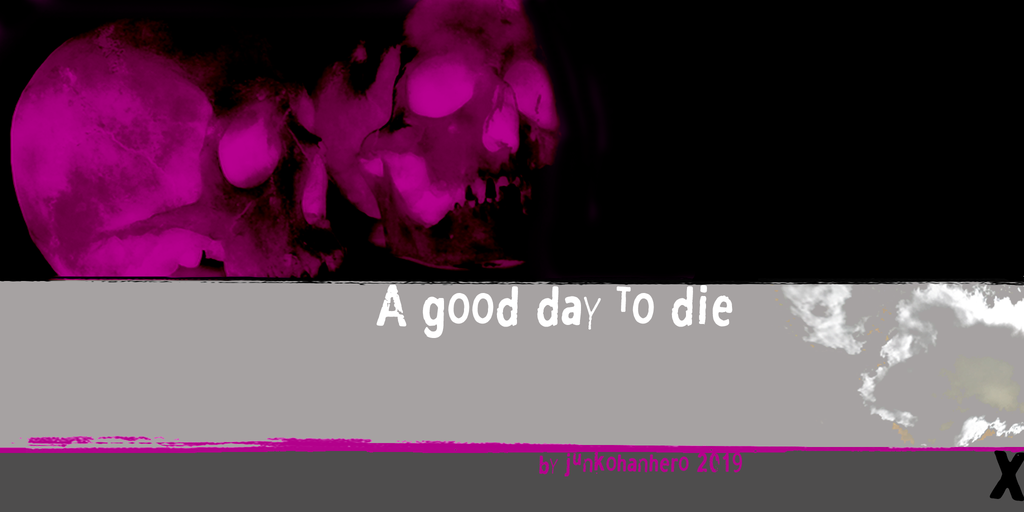 A good day to die Font 死亡字型下載