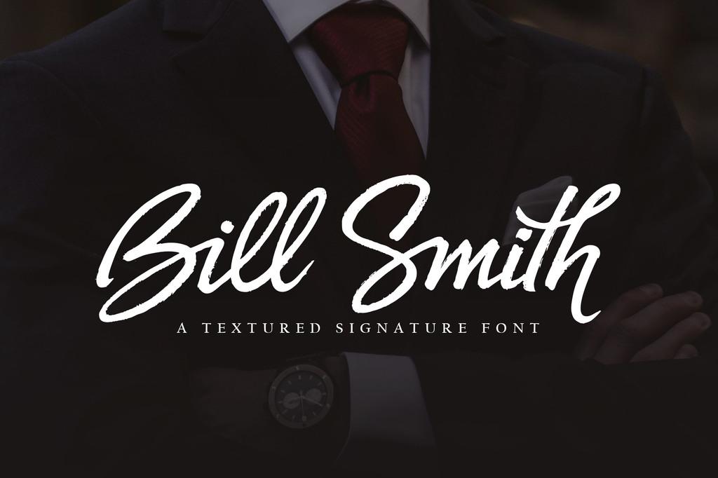 Bill Smith Font 時尚標題字型下載