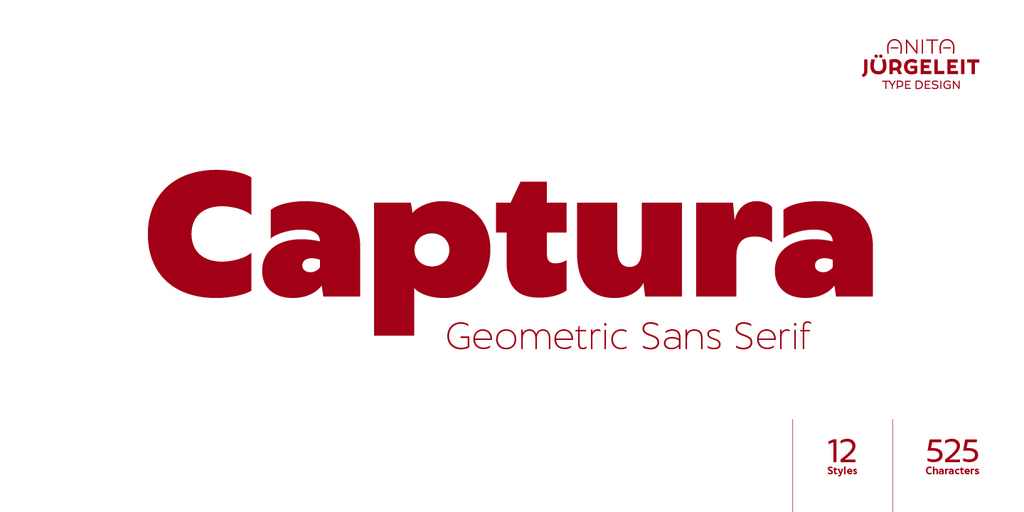 Captura Font Family 品牌標題字型下載