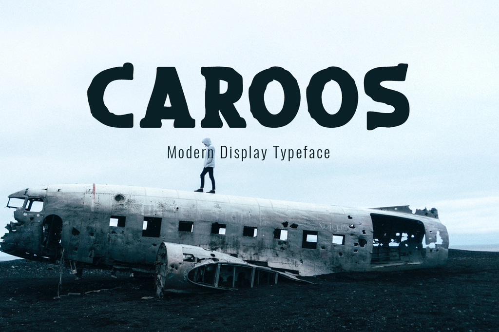 Caroos Font 英文黑體字型下載