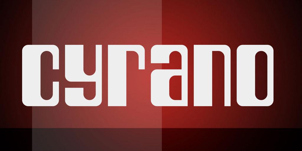 Cyrano Font 復古英文字型下載