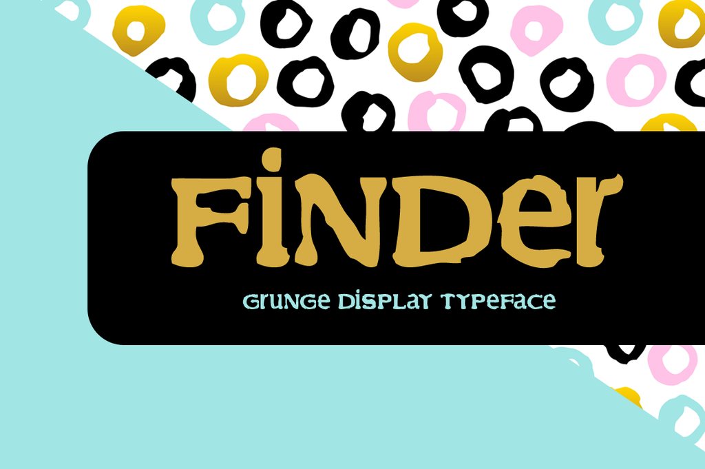 Finder Font 趣味標題字型下載