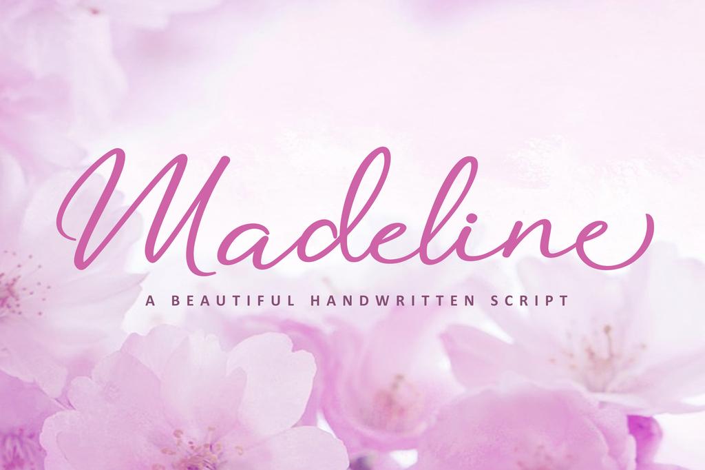 Madeline Font 婚禮字型下載