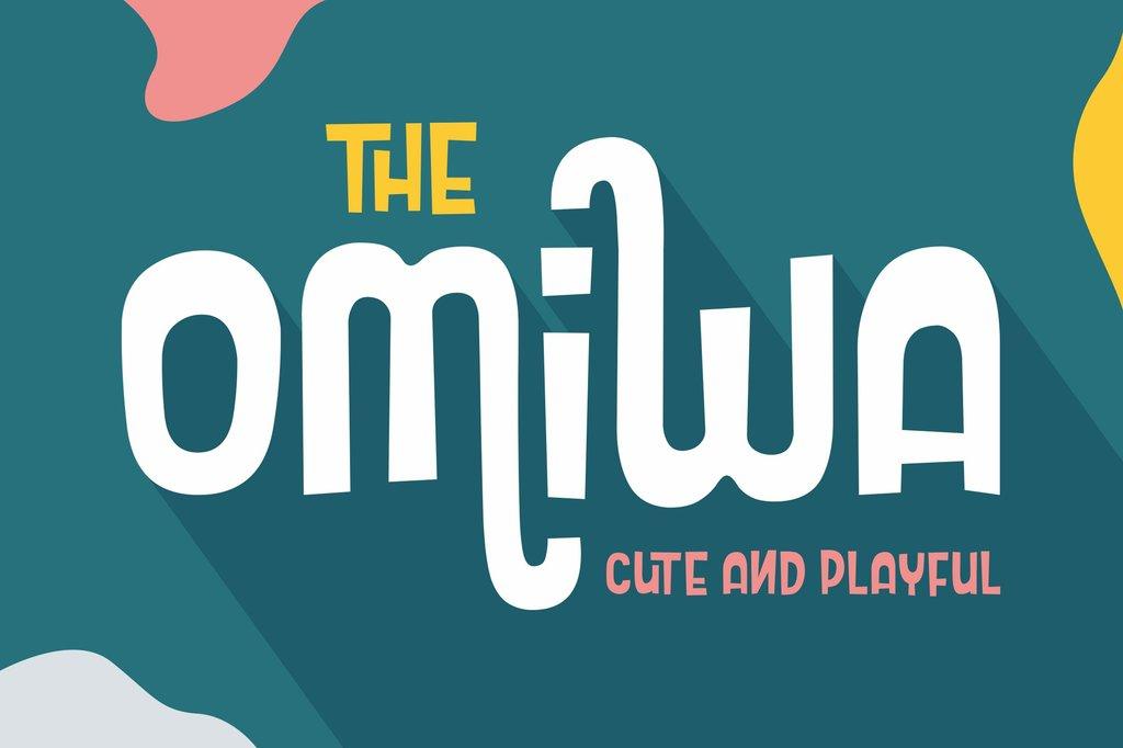 Omiwa Font DM品牌字型下載