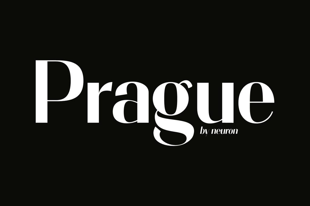 Prague Font 經典英文字型下載