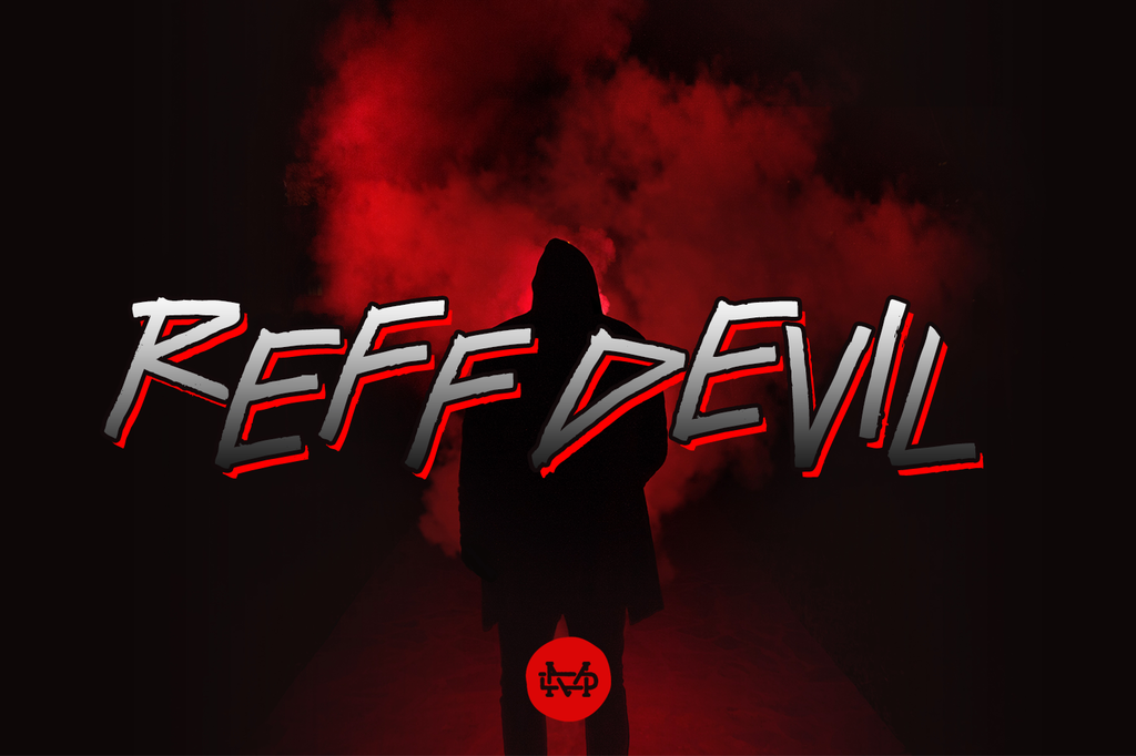 ReFf dEvIl Font 恐怖畫面字型下載