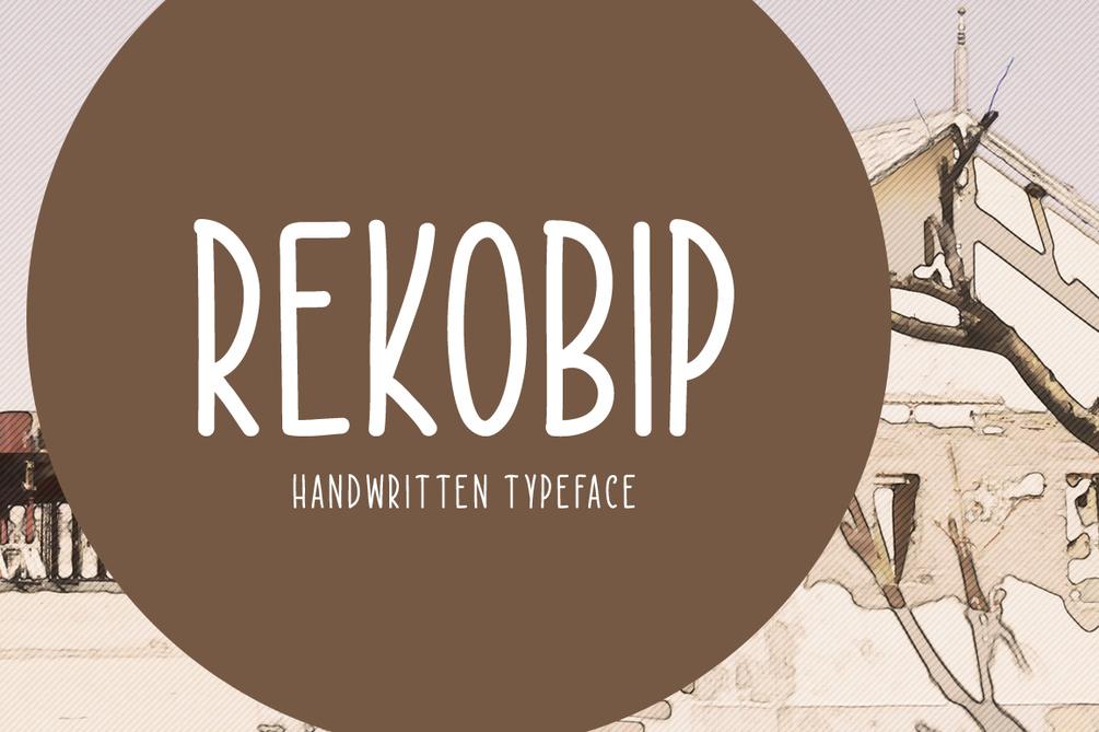 Rekobip – Free For Personal Use Font 歐美標題字型下載