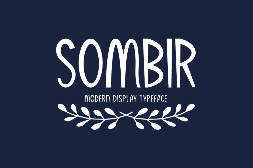 Sombir Font 俏皮英文字型下載