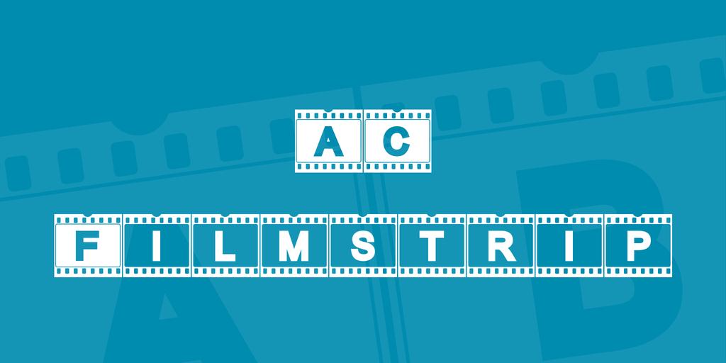 AC Filmstrip Font 電影底片字型下載