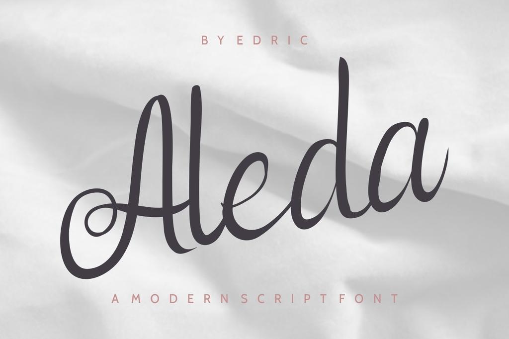 Aleda Font Family 花式英文字型下載