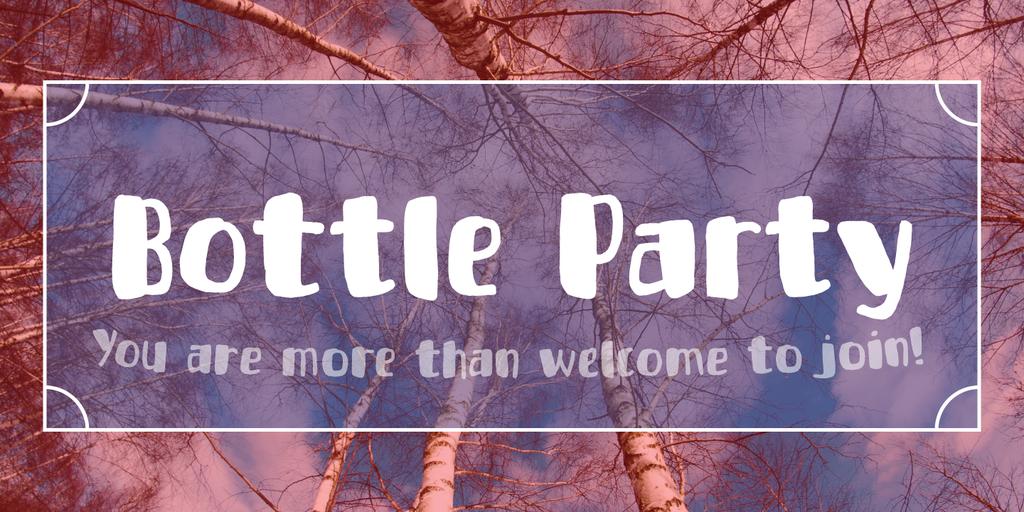 Bottle Party DEMO Font 英文生日快樂字型下載