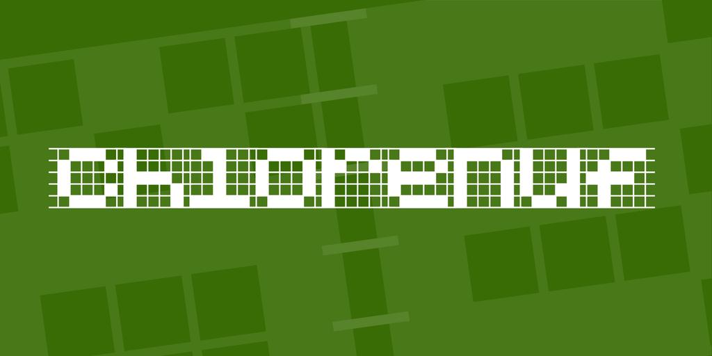 像素字型下載