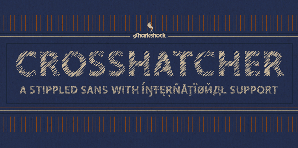 Crosshatcher Font 鉛筆字型下載