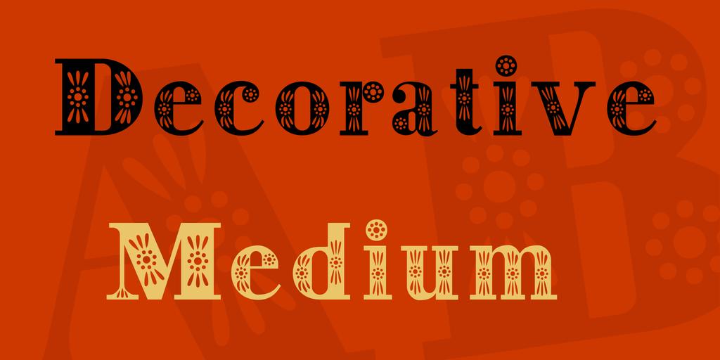 Decorative Font 裝飾婚禮字型下載