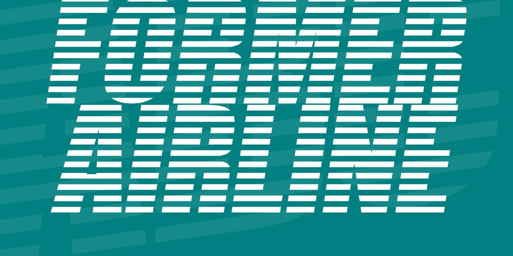 Former Airline Font 航空公司字型下載