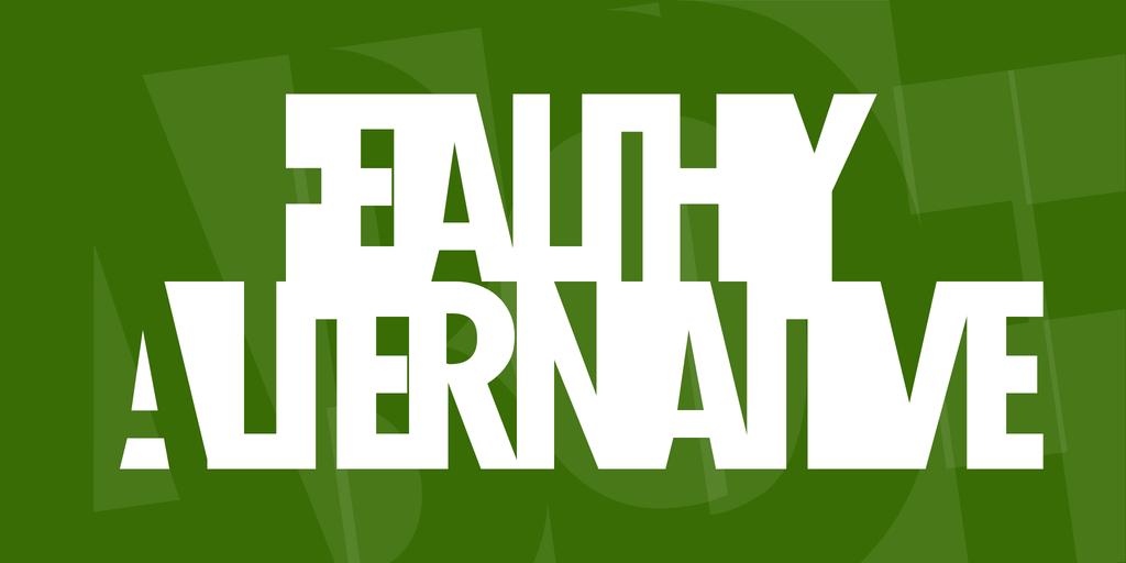 Healthy Alternative Font 陰影設計字型下載
