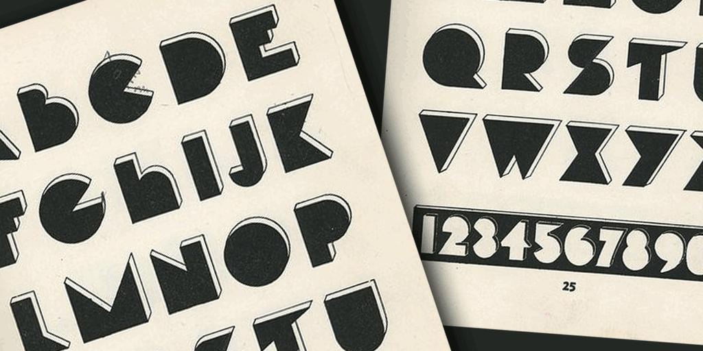 Hunt Font 3D 藝術字型下載