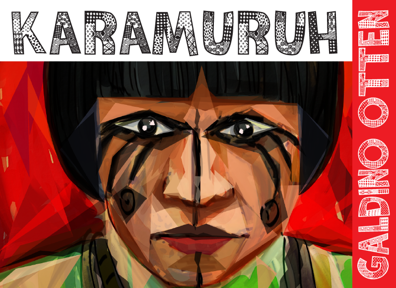 Karamuruh Font 圖案設計字型下載