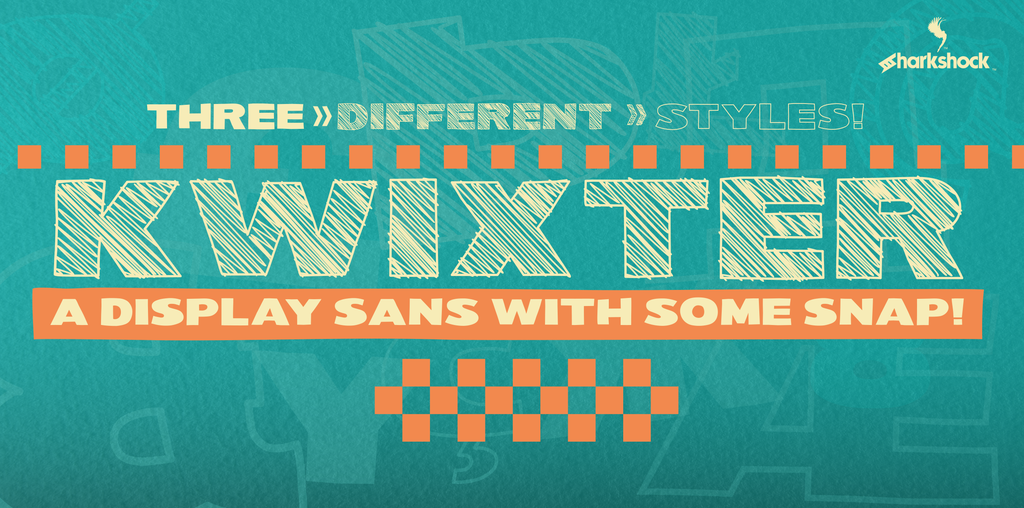Kwixter Font 素描字型下載