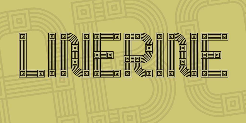 Linerine Font 古董字型下載