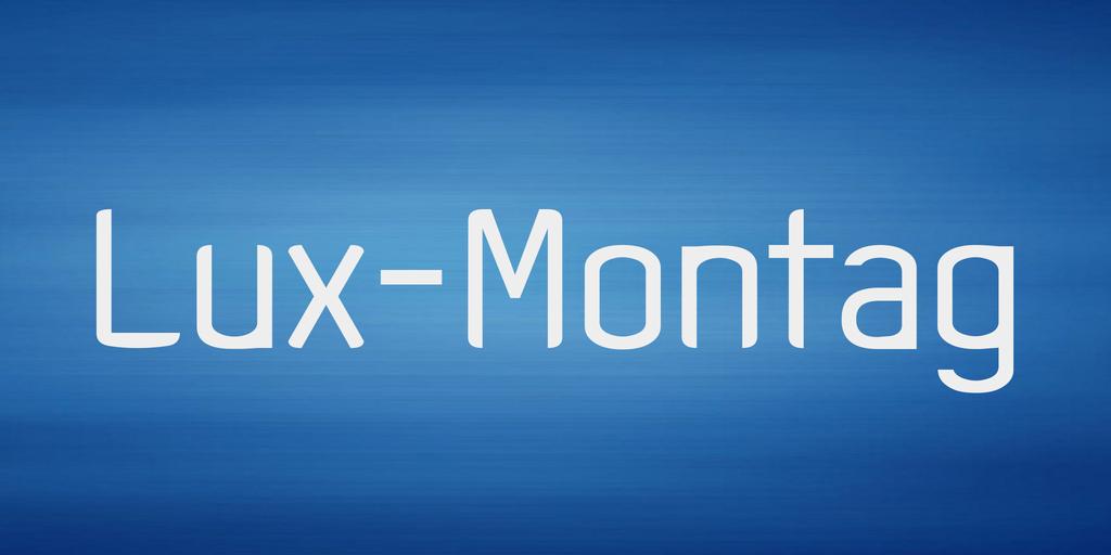 Lux-Montag Font 希臘字型下載