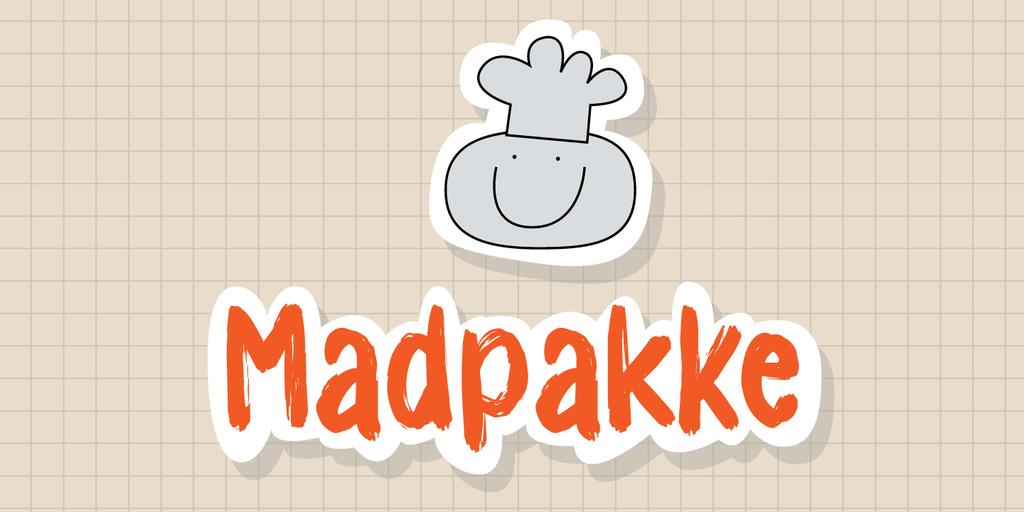 Madpakke DEMO Font 筆刷字型下載